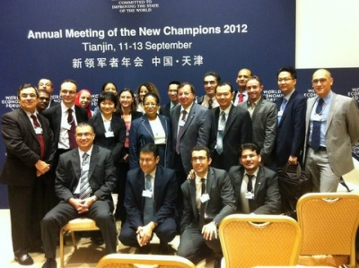 ANNUAL MEETING OF THE NEW CHAMPIONS 2012 - World Economic Forum - Summer Davos