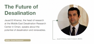 The Future of Desalination By Dr. Jauad El Kharraz